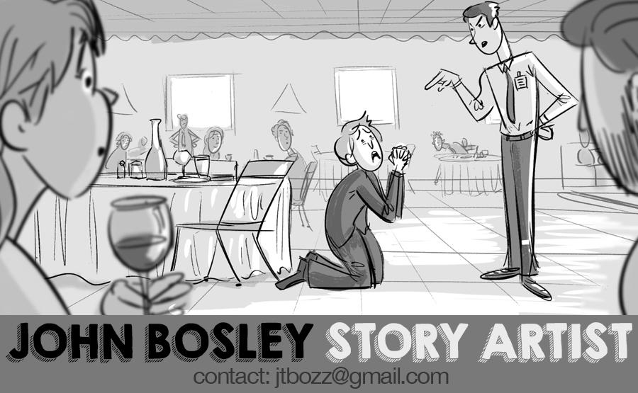 John Bosley's Story Portfolio