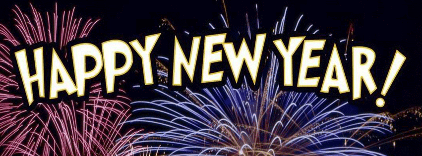 Happy New Year 2015 Facebook Covers Latest and New Loook