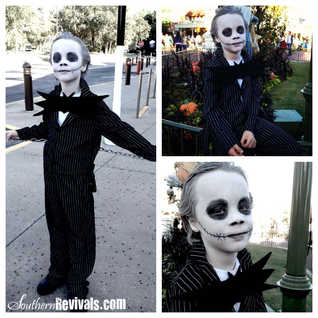 Walmart Gangster Turned Jack Skellington Halloween Costume Tutorial ...