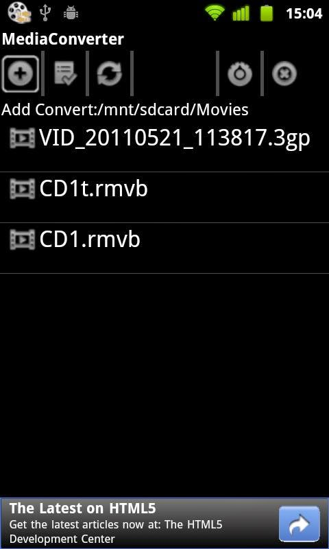 Mp3 Media Converter Android Apk resimi