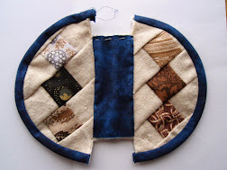Patchwork Purse (Fiinished 2015)
