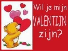 liefdesfoto: wil je mijn valentijn zijn