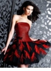 redfeatherdress+%2528180+x+250%2529 Fantastic Cocktail Dresses to Consider