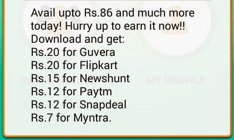 Download Apps and Get upto Rs 86 Free Recharge from Earn Talktime today