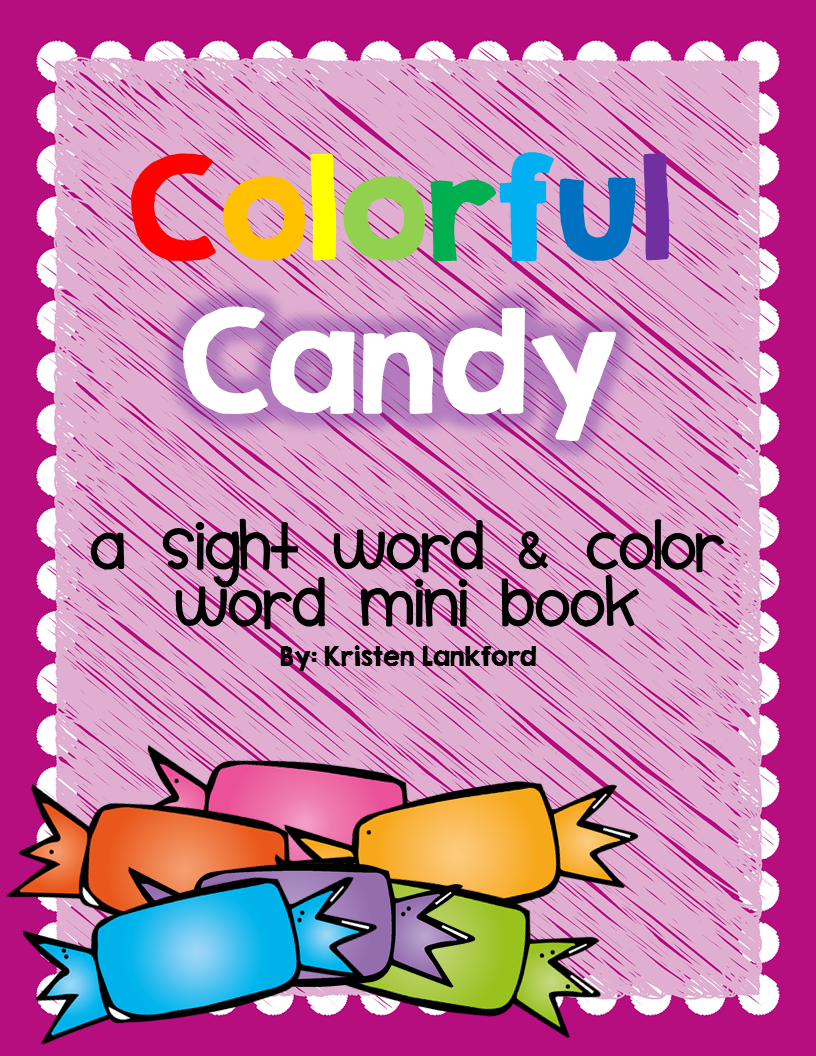 http://www.teacherspayteachers.com/Product/Mini-Book-Colorful-Candy-1474057