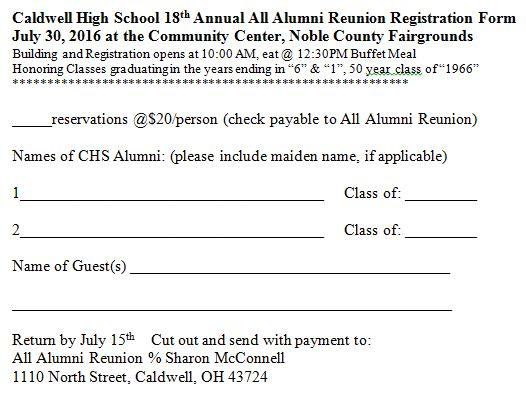 2016 Registration Form