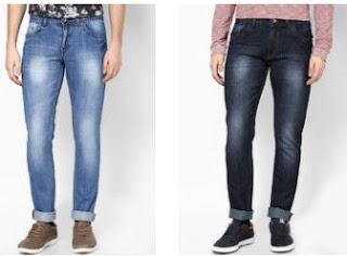 Jabong : Buy Inclut And Jhon Players Men's Jeans at Flat 50% Off