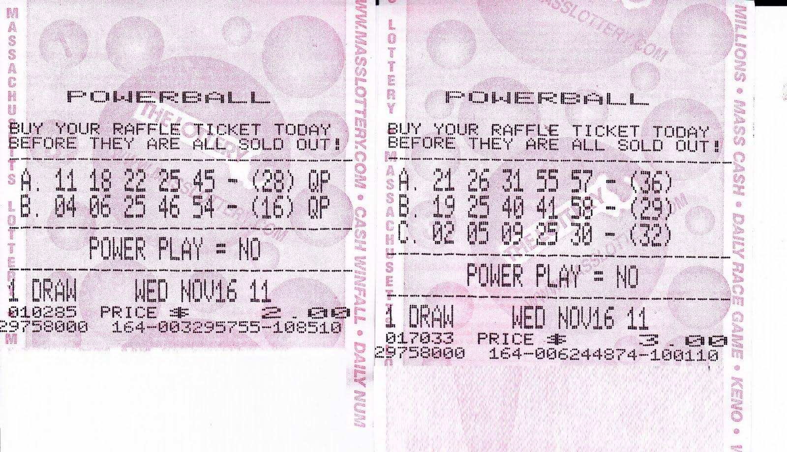 Bingo Lottery Tickets