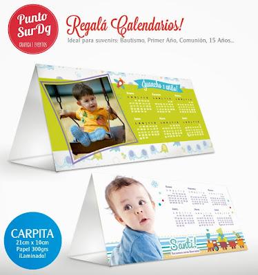 suvenir calendario foto