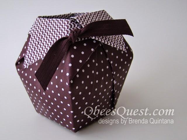Qbees Quest Origami Vase Tutorial