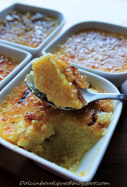 creme brulee di cous cous