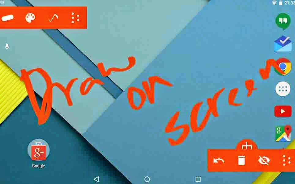 how to draw on android screen