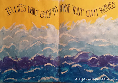 Art Journal Page Spread by Betty Guffey Richardson