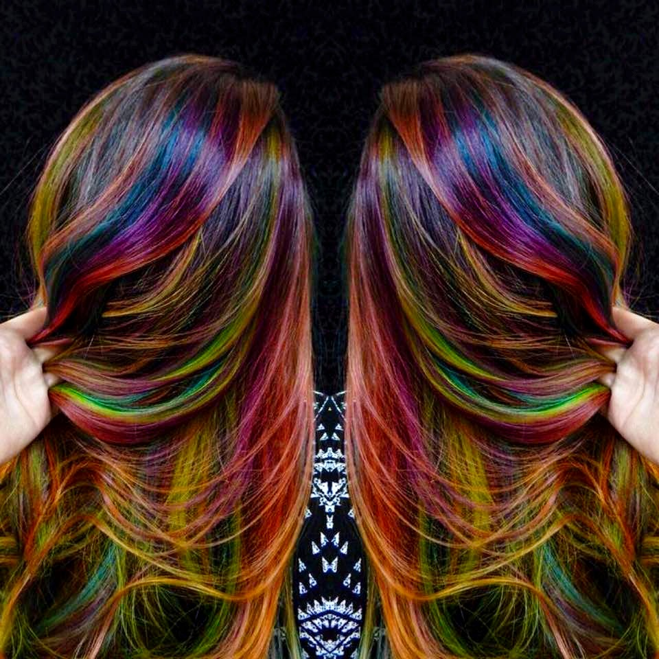 Art color hair - She Is The Revival Of Science Math And Art Freely Playing In The Day Light And Again Celebrated