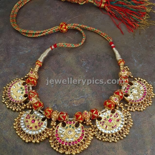 vintage kundan jewellery from gehna