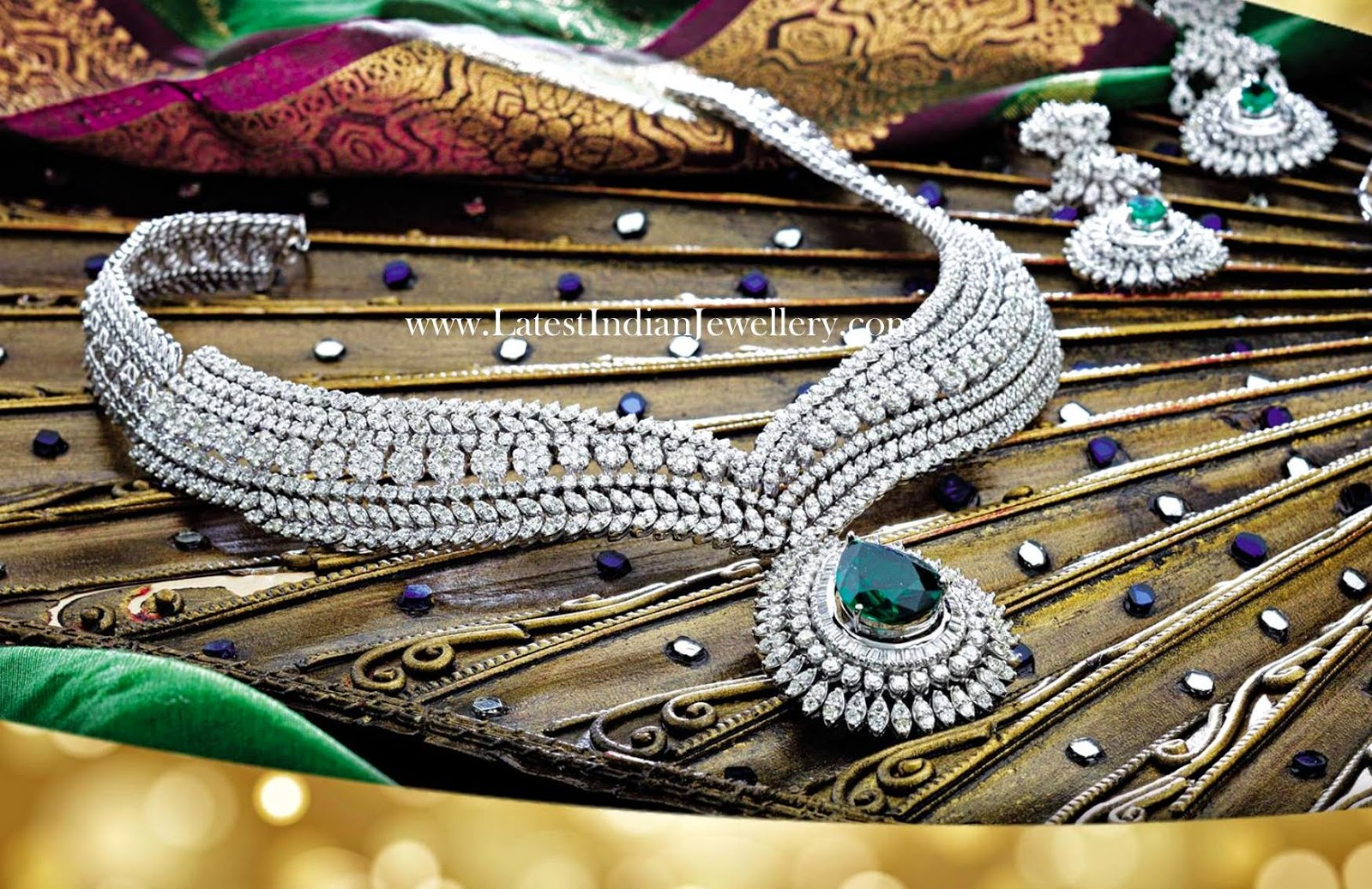 Precious Diamond Jewellery Set