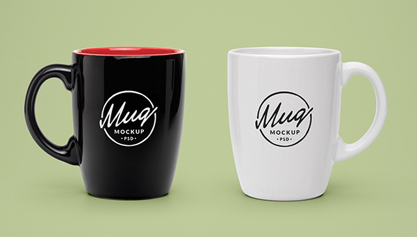 Download Coffee Mug Mockup PSD Terbaru Gratis - Glassware Coffee Cup Mockups PSD