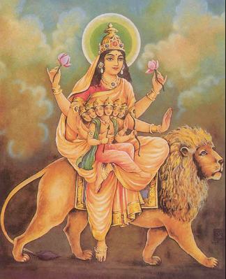 Fifth Day Of Navratri For Goddess Maa Skandamata Mantra Ritual