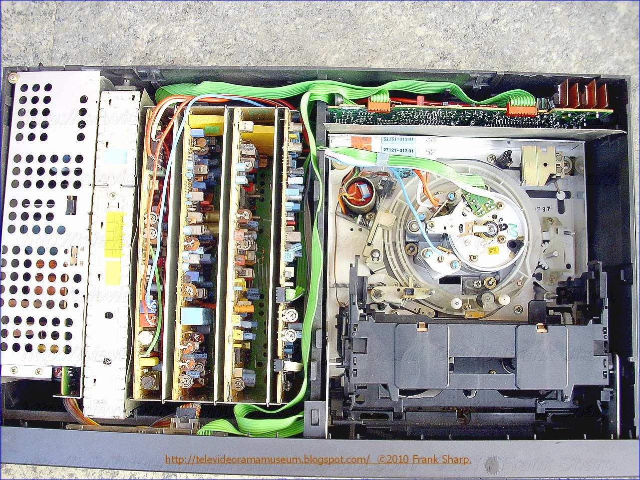 Tele Video Rama Museum !: GRUNDIG VIDEO 2X4 STEREO 2200 CHASSIS ...