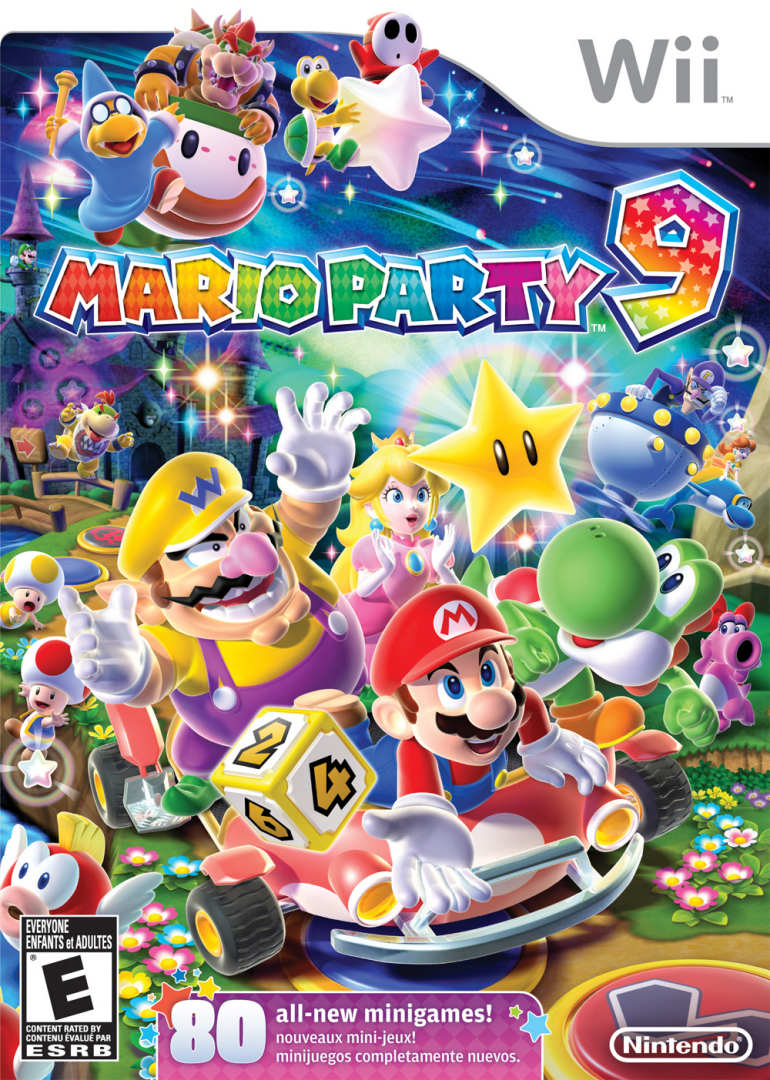 madhouse family reviews wii game review mario party 9. Black Bedroom Furniture Sets. Home Design Ideas