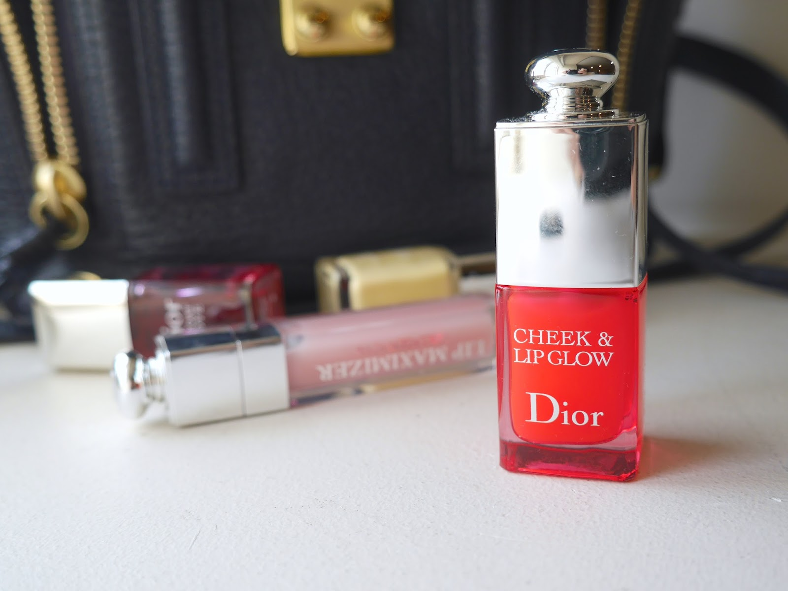 Dior Cheek and Lip Glow swatch review