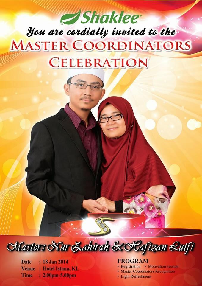 master coordinators celebration