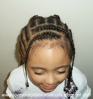 biracial hairstyles for girls Diva R s Hairstyle from Pretty   Xpecial Smile