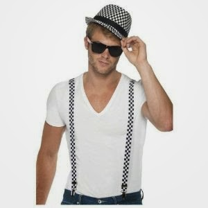 2 tone hat and braces ska costume