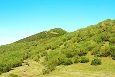 Aller, pico La Teyera, proximidades de la cima