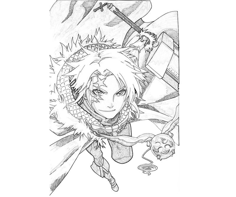 allen-walker-attack-coloring-pages