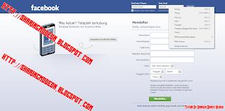 Cara Mengetahui Password Facebook Melalui Inspect Element