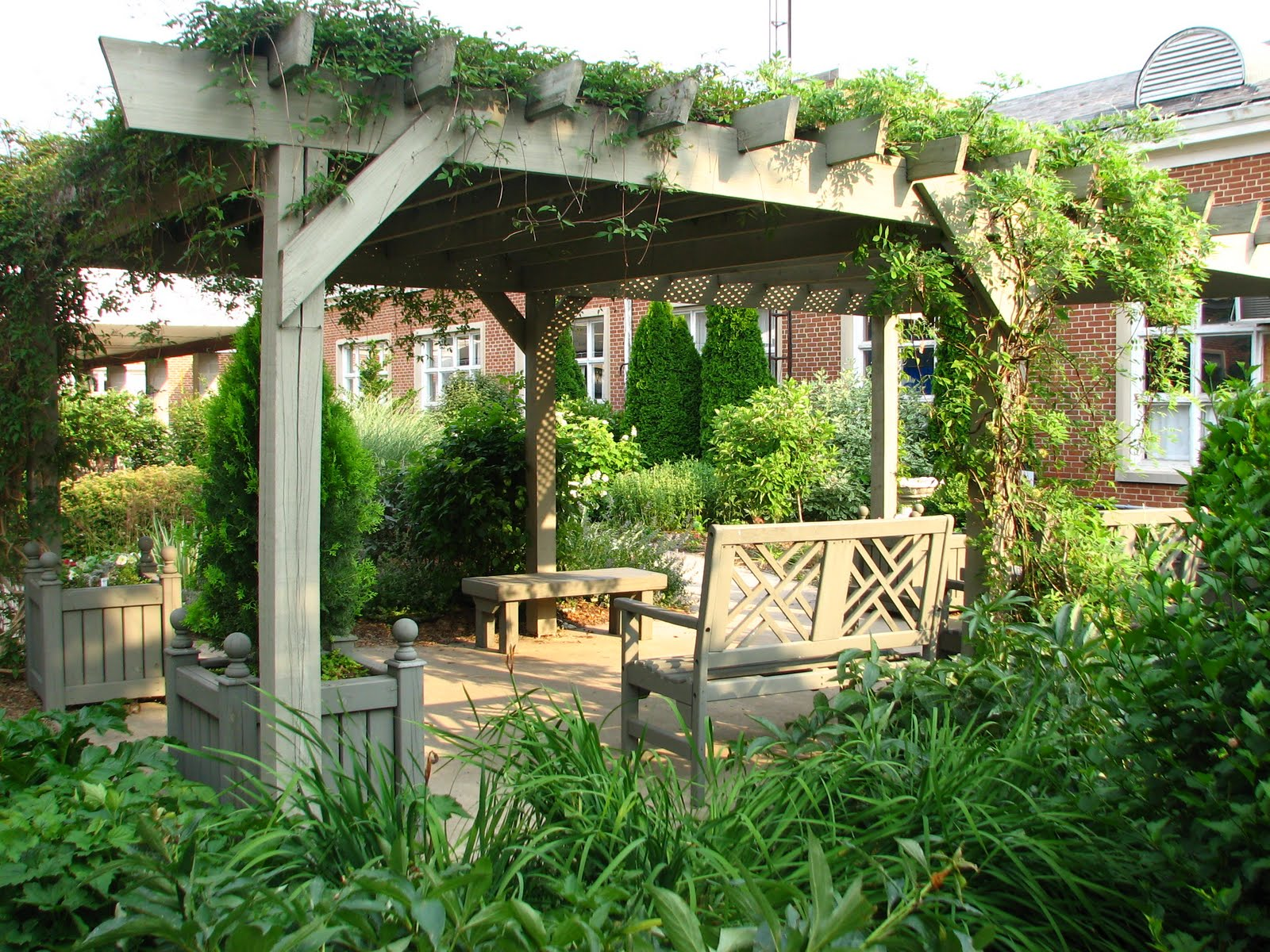 Beautiful The Pergola At The Falling Spring Nursing Home Garden Good Ideas