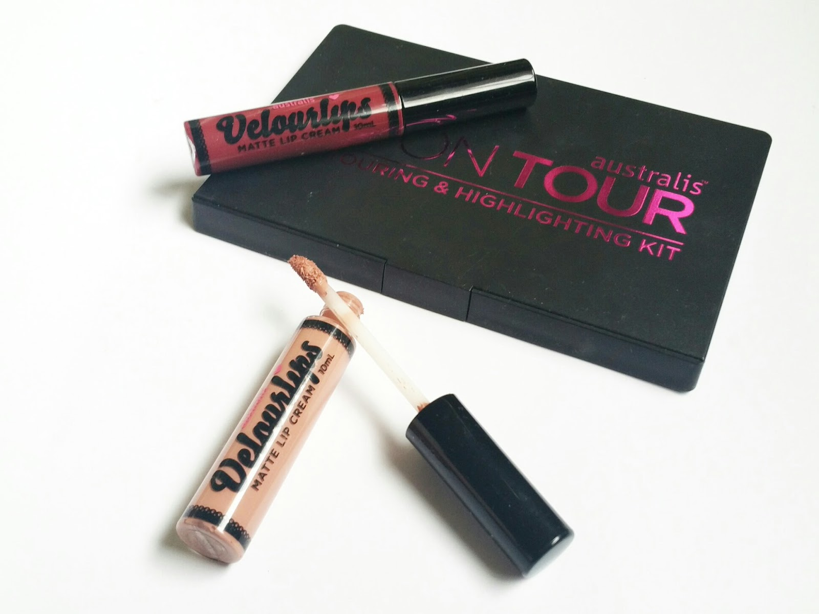 ebca8ff97c4 Australis Velourlips Matte Lip Creams come in a range of 15 intense colours  and are packaged in small hard plastic tubes with a doe foot applicator.