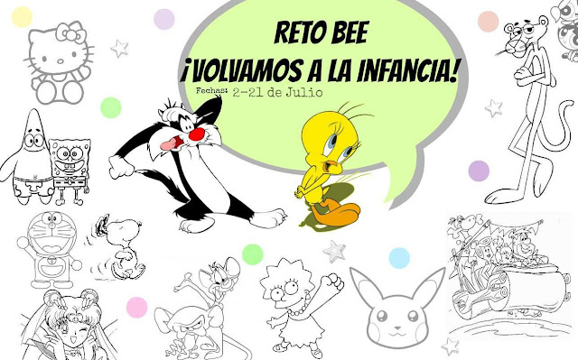 manicura cuca con pucca nail art infancia dibujos animados reto bee