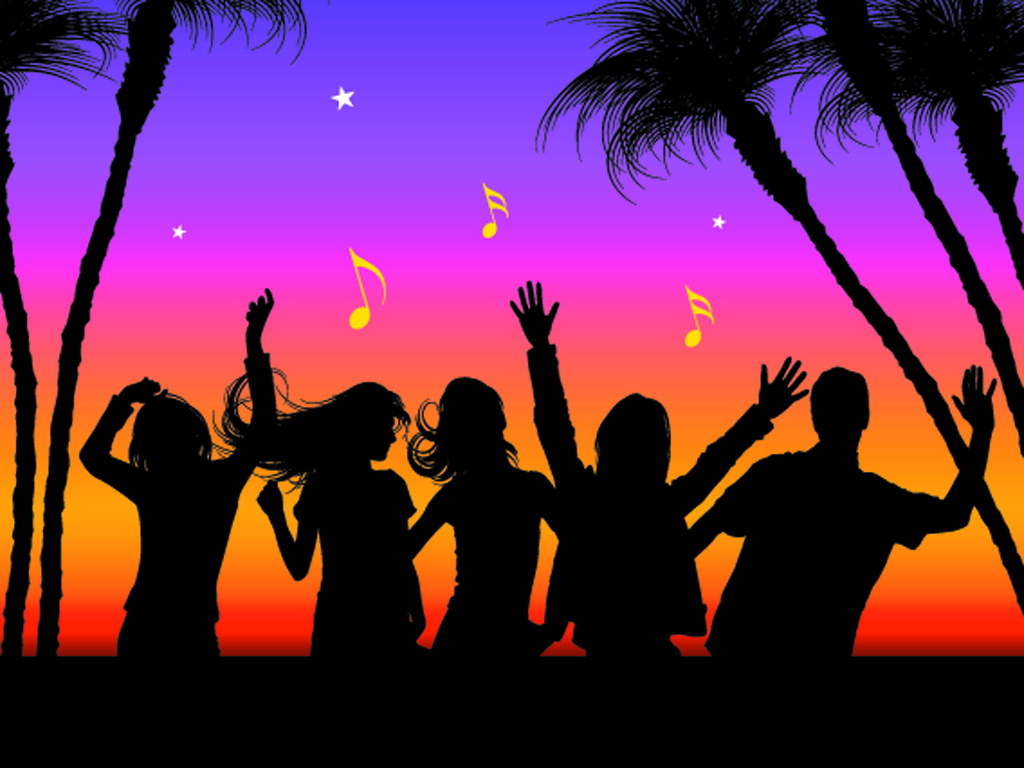 slice of heaven with music beach party