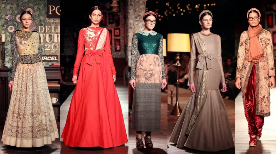 sabyasachi fashion show dresses