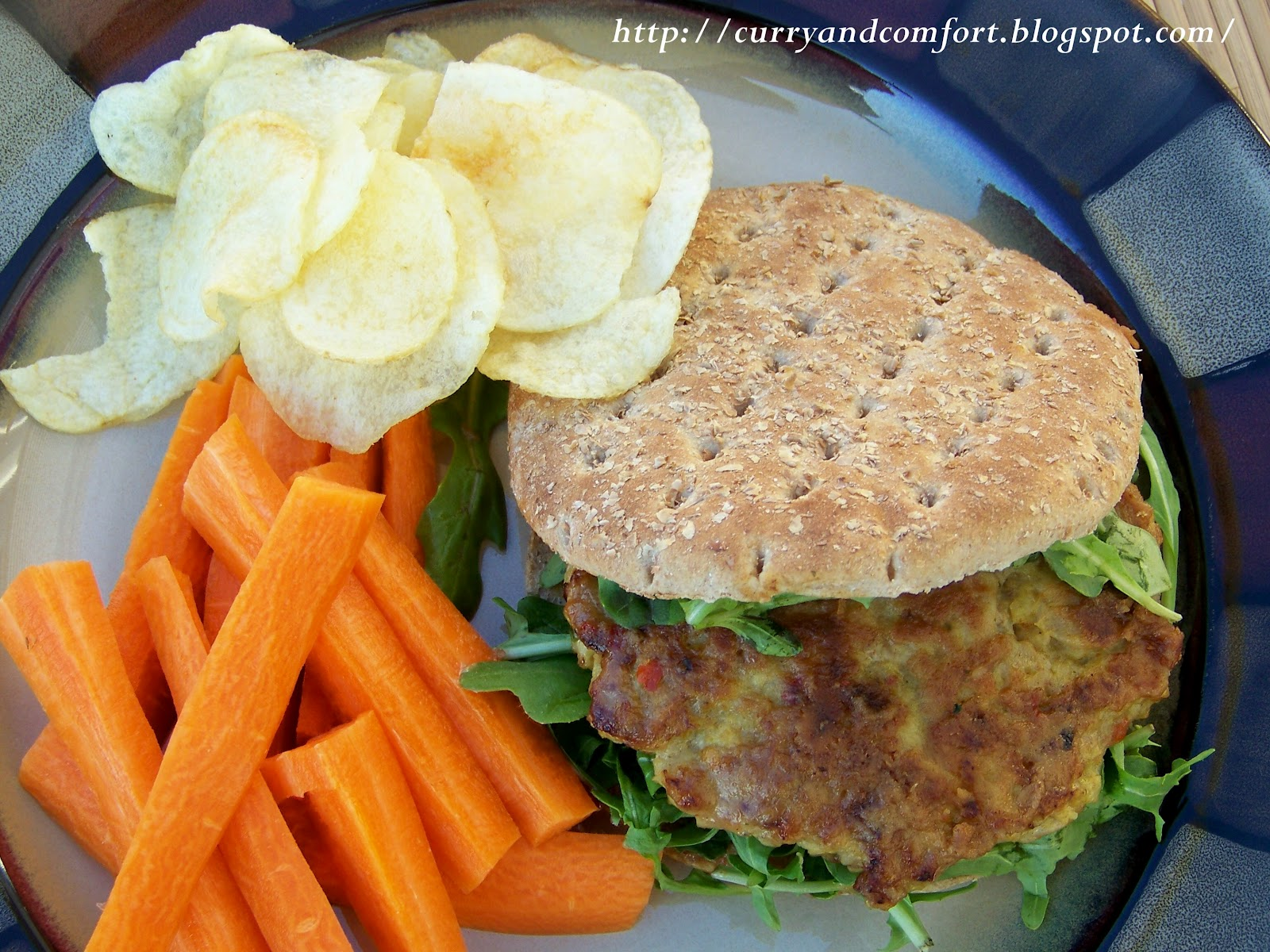Curry and Comfort: Satay Chicken Burger