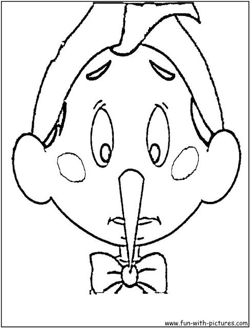 Coloriage Pinocchio