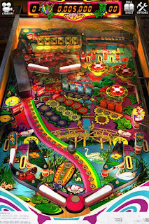 Screenshots of the Zaccaria pinball game for iPhone, iPad or iPod.
