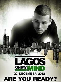 Chris Brown Lagos