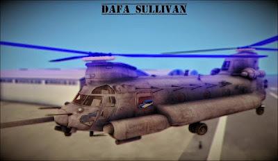 Mod MH-47 GTA San Andreas