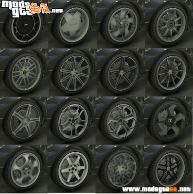 Real Brand Rims (Pack de Rodas) V2.0
