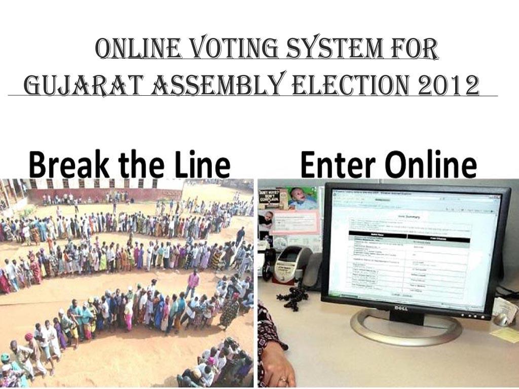 Online color voter id card gujarat - Online Voting System For Gujarat Assembly Election 2012