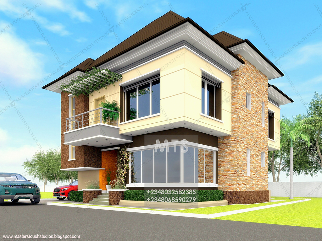 Mr okeke 4 bedroom duplex modern and contemporary for 5 bedroom duplex