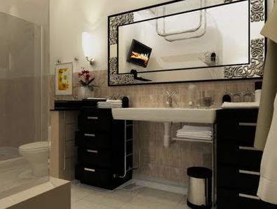 A mi manera decorar y remodelar el ba o con bajo presupuesto for Como remodelar un bano pequeno