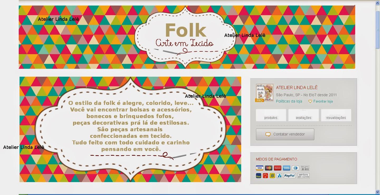fachada elo7 - Folk
