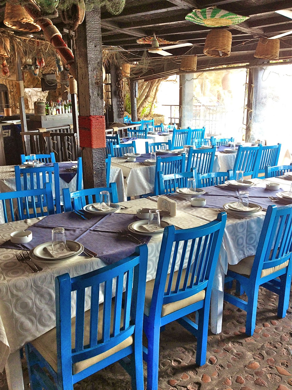 Picture of Pepe's Fishing Club terrace in Byblos.