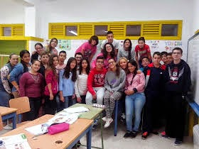 2º ESO A students