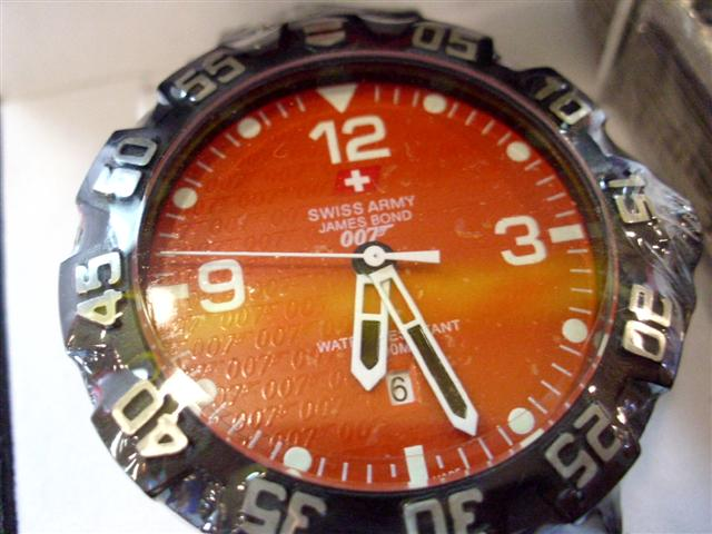 Jual Murah Jam Tangan Swiss Army Original James Bond