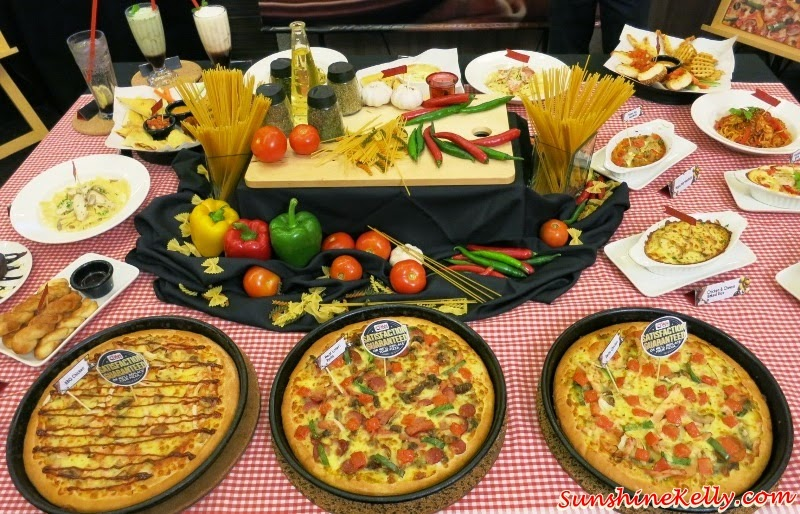 Pizza Hut New Menu & Improved Pan Pizza, Pizza Hut Malaysia, foodie malaysia, food review